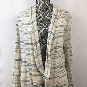Anthropologie Saturday Sunday stripe cardigan